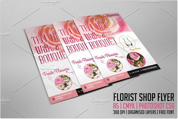 Mother's Day - Florist Shop Flyer