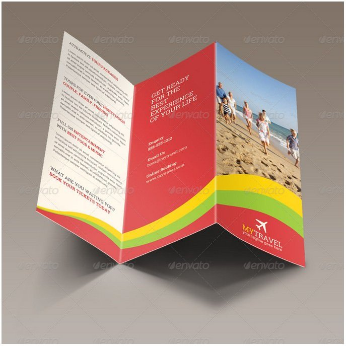My Travel Trifold Brochure