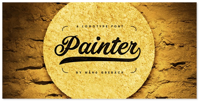 Painter Decorative Font