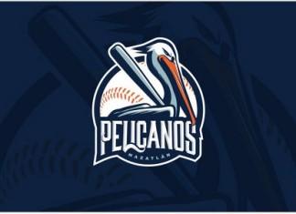 Pelicanos Baseball Logo template