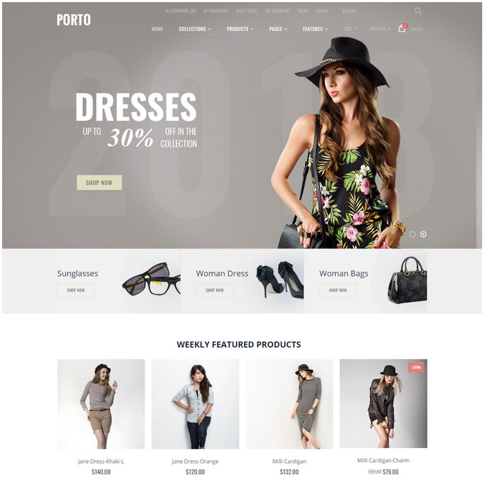 Porto - Ultimate Responsive Shopify Theme