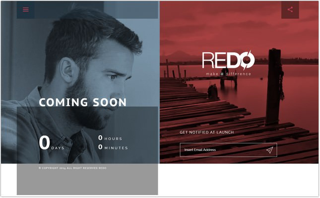 Coming Soon bootstrap Template
