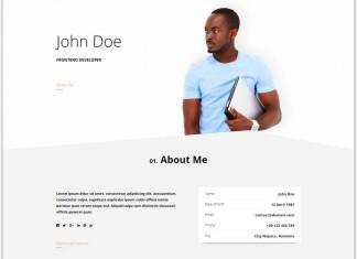 Resume CV - Bootstrap Theme