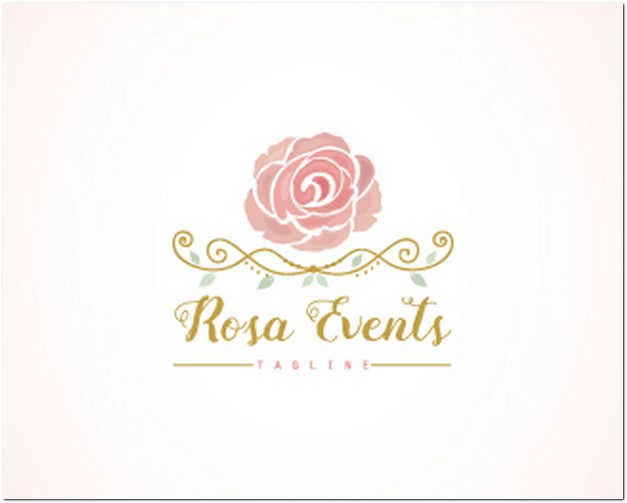 Rosa Events Logo