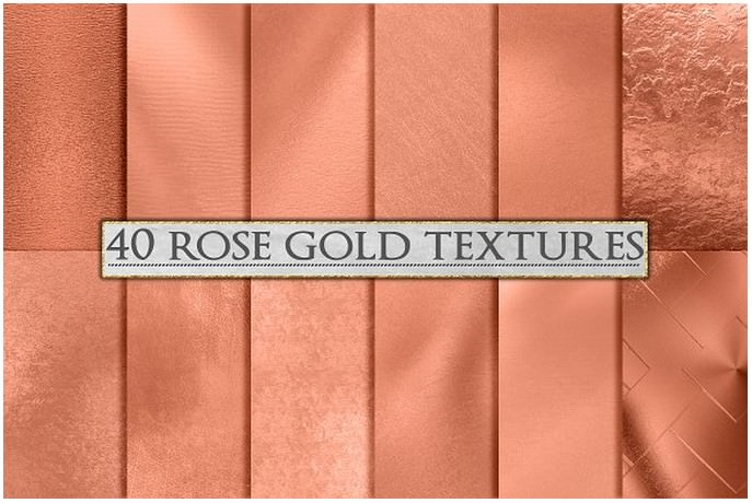 Rose Gold Foil Background Textures