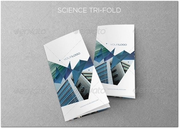 Science Trifold template