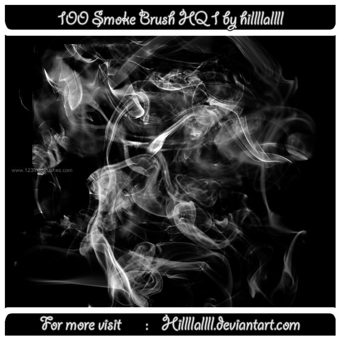 Smoke Free Photoshop Brush