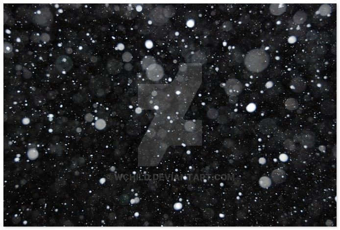 Snowing texture