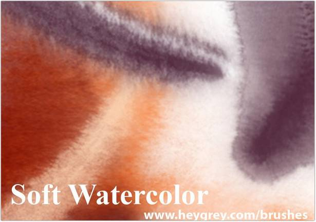 Soft Watercolor Brushe