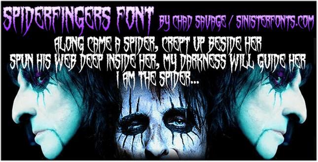 Spiderfingers Font