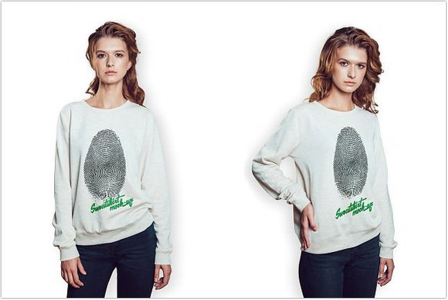 Sweatshirt Mock-Up PSD