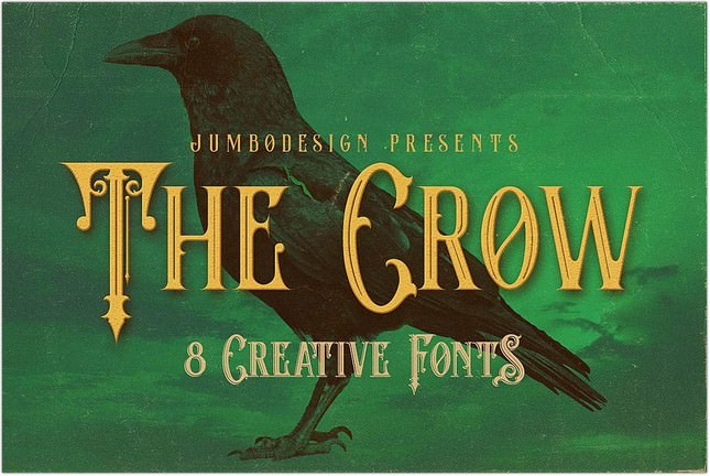 The Crow Font
