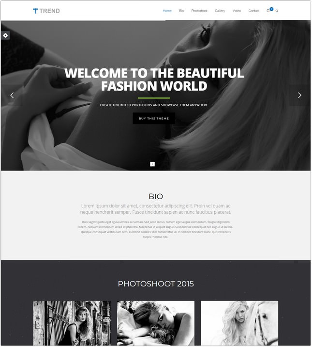 HTML5 HTML Theme with Page Builder
