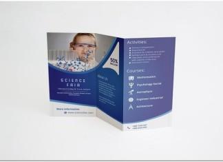 Tri-Fold Brochure Science Fair