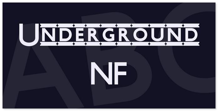 Underground NF Font