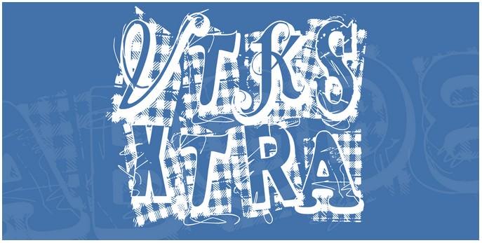 VTKS Xtra Font