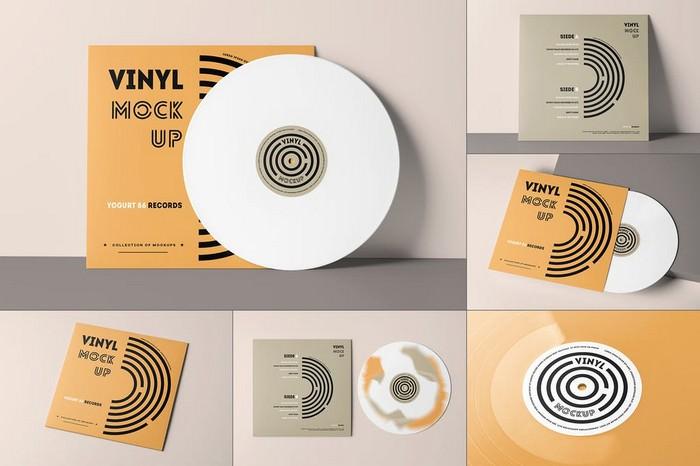 Vinyl Mock-up 3