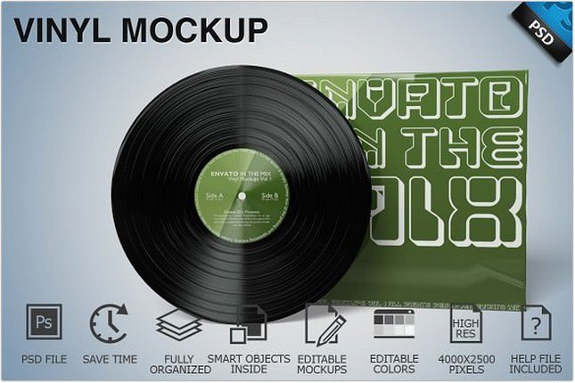 Vinyl Mockup 01