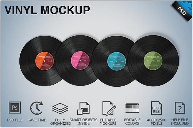 Vinyl Mockup 09