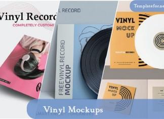 Vinyl Mockups