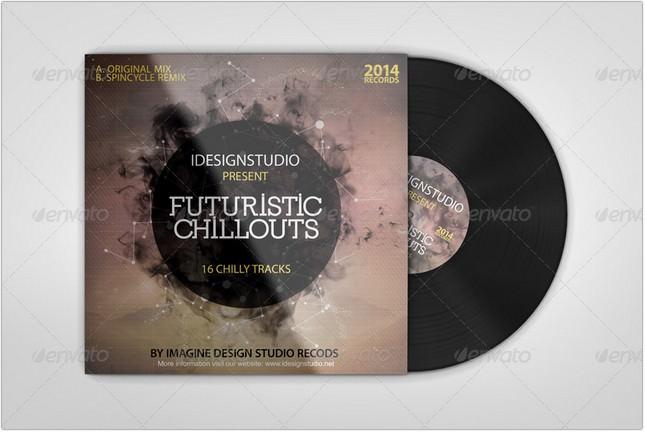 Vinyl Records Mock-ups