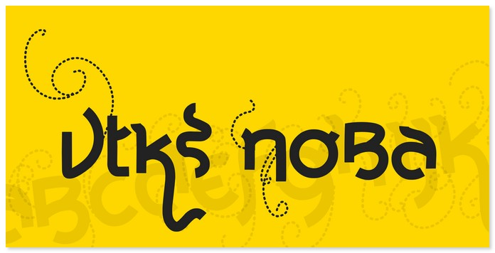 Vtks Noba Font