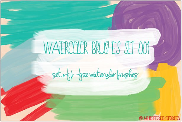 Watercolor Brushes Set