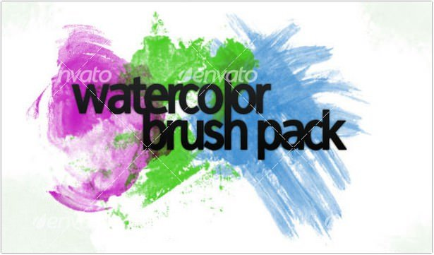 Watercolor Brushpack
