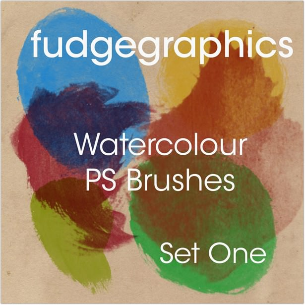 Watercolour Brushes set