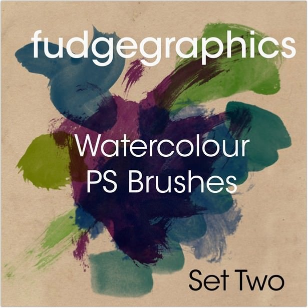 Watercolour Brushes Set 2