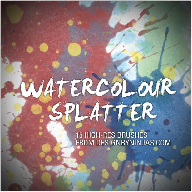Watercolour Splatter