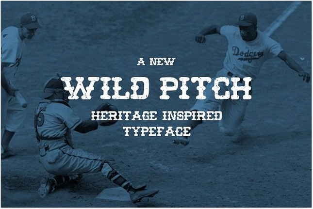 30+ Best Baseball Fonts 2018 - Templatefor