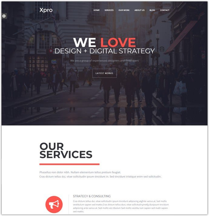 Onepage Multipurpose Bootstrap HTML