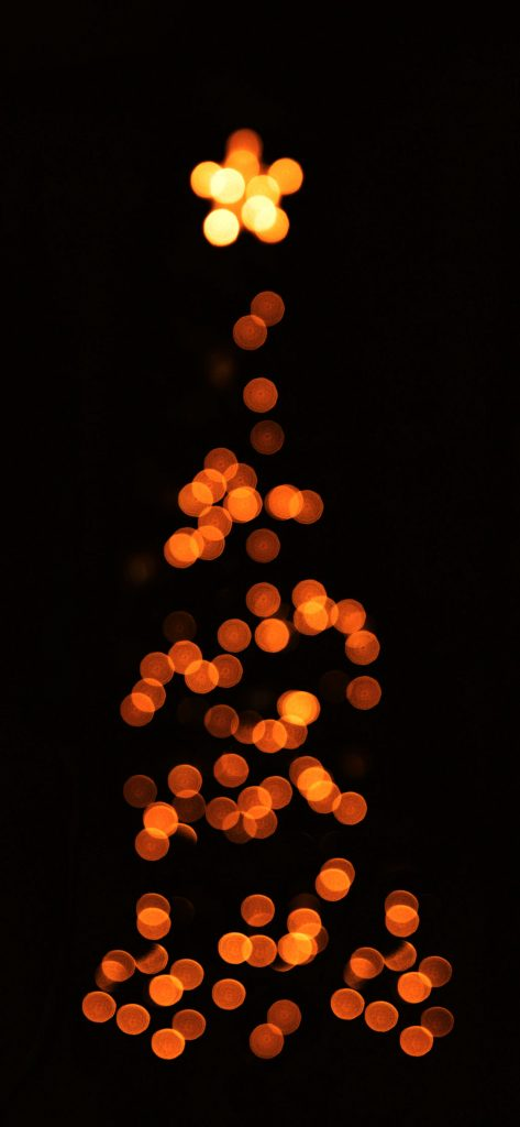 1125 × 2436 Blur Light Christmas iPhone XS wallpapers
