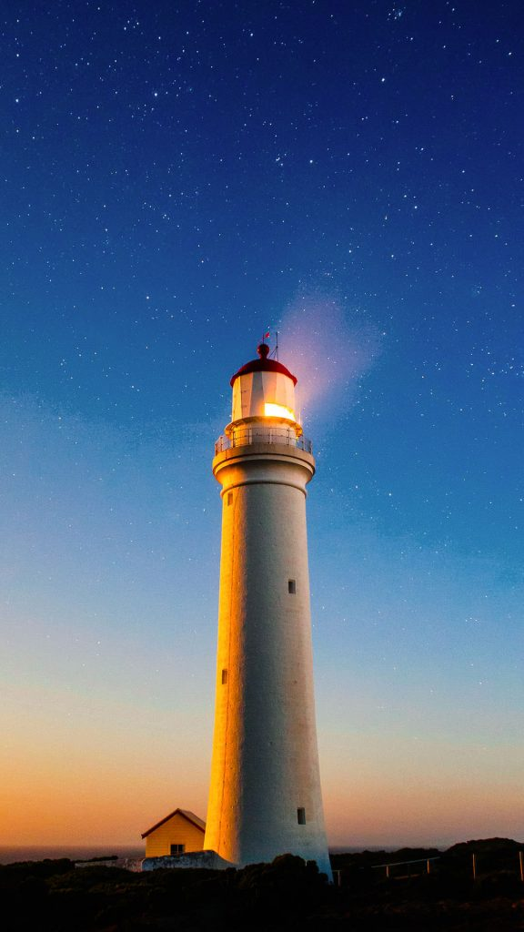 1080 × 1920 Cool Light Tower iPhone 7 Wallpapers