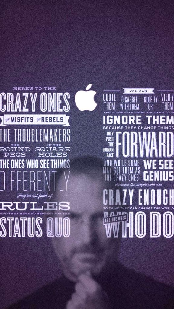 1080 × 1920 steve jobs Motivational iPhone Wallpapers