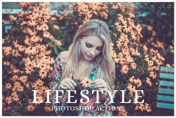 25 Lifestyle Insta Photoshop Actions