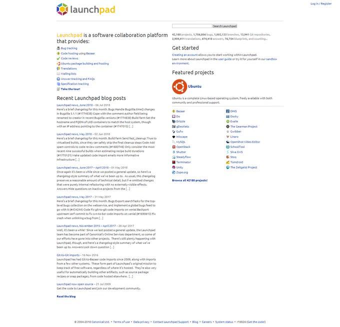 5 GitLab Alternatives-Launchpad