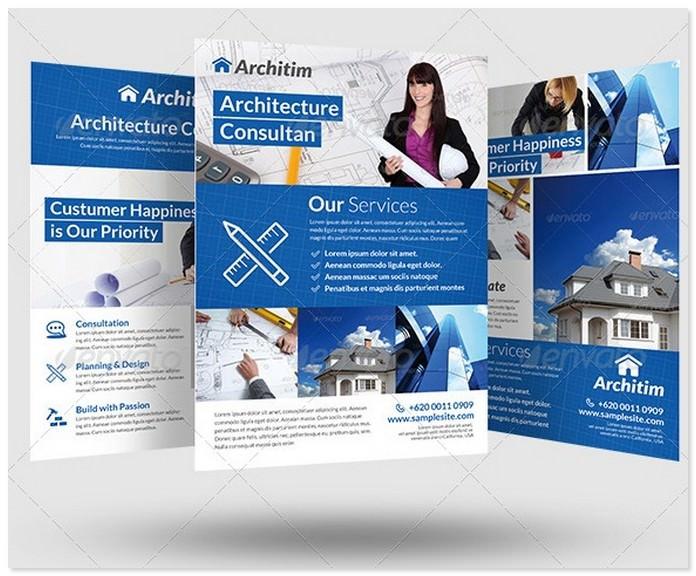 Architecture Consultant Flyer
