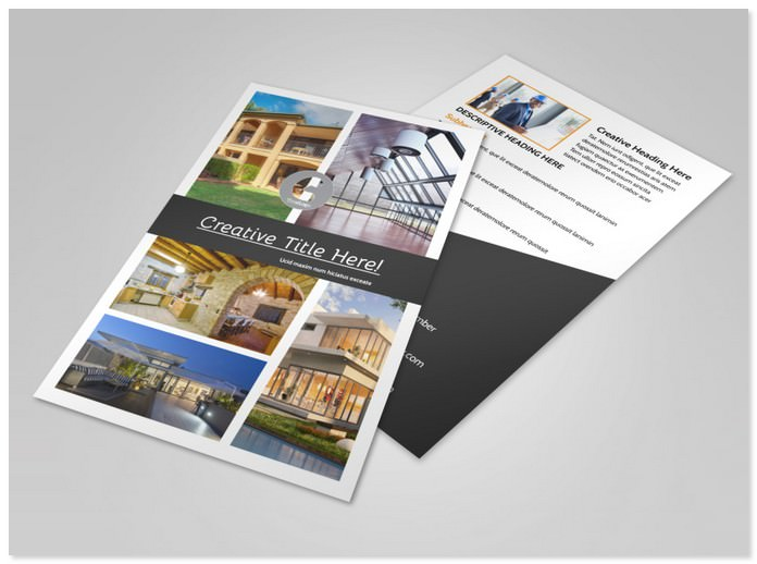 Architecture & Design Service Flyer Template