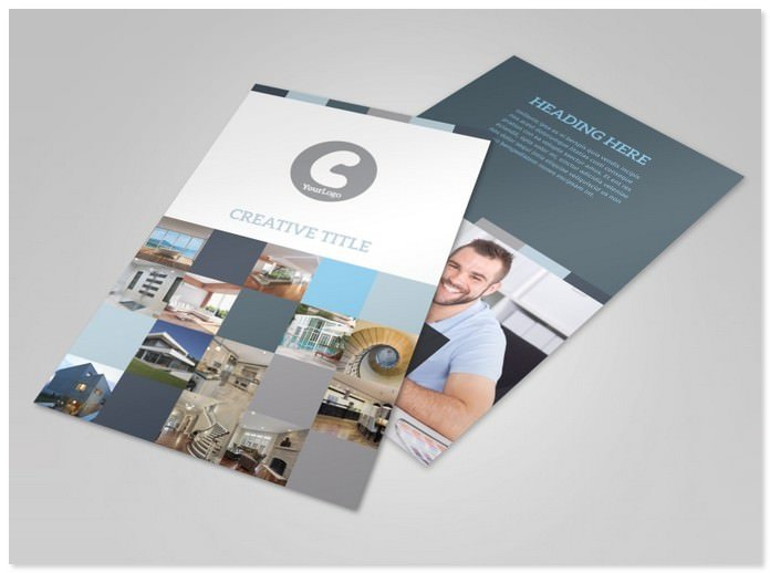 Architecture & Design Studio Flyer Template
