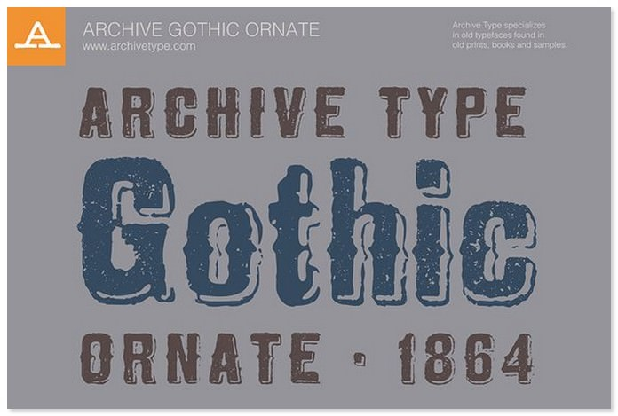 Archive Gothic Ornate