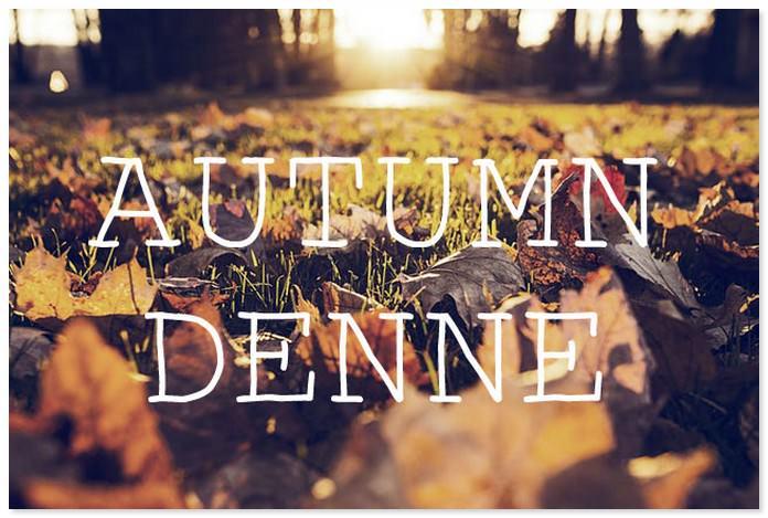 Autumn Denne Font