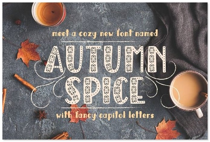 20+ Best Autumn and Fall Fonts 2018 - Templatefor