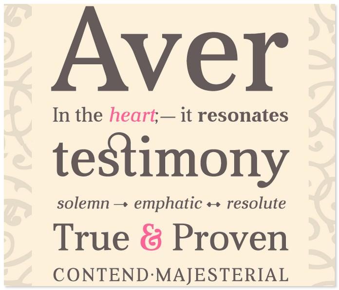 Aver Easter Font
