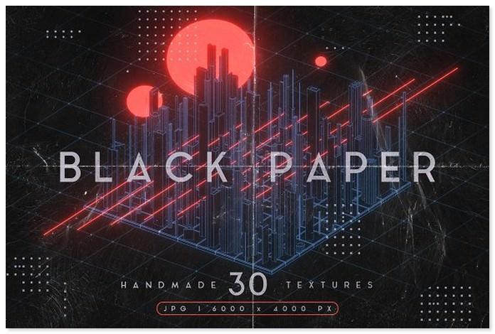 Black Paper Textures