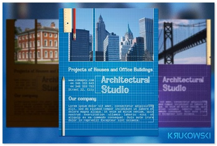 Blueprint Architect Flyer