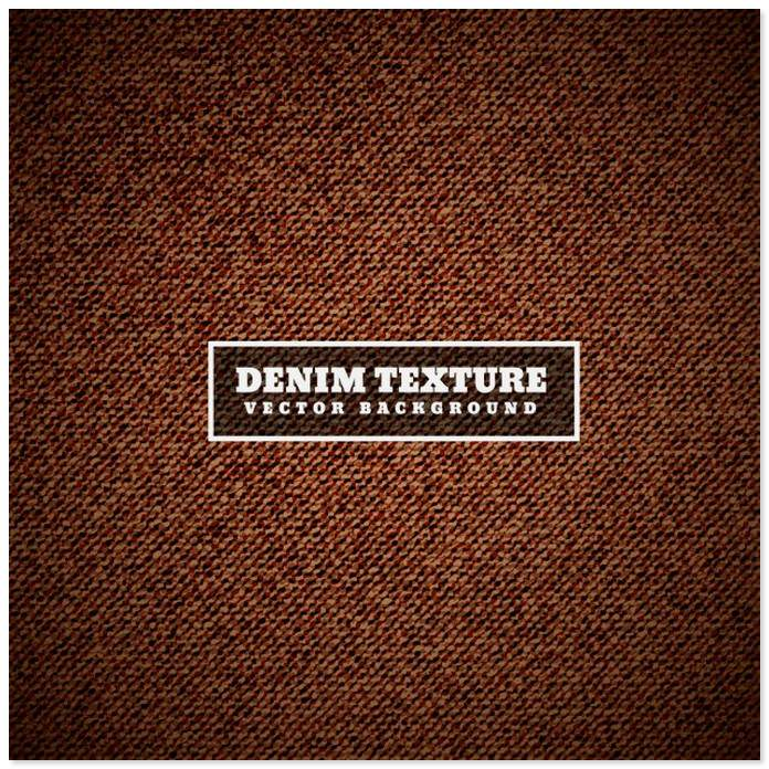 Brown Denim Texture