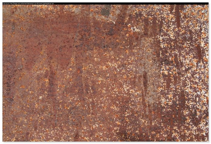 Brown Rust Texture 1