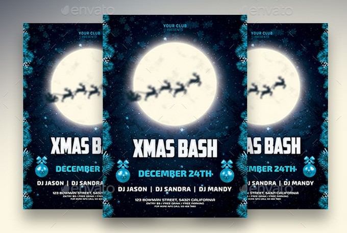 Christmas Bash Flyer